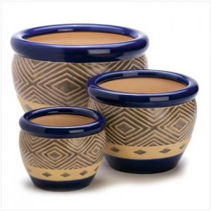Gifts-Decor-Cobalt-Planter-Ceramic-Garden-Plant-Flower-Pot-Set-3-Piece-0