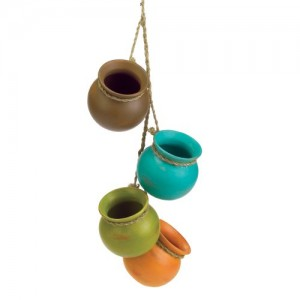 Gifts-Decor-Dangling-Mini-Ceramic-Pot-Set-0